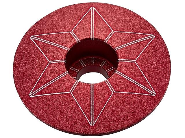 Supacaz Star Capz Ahead Kap geanodiseerd, red